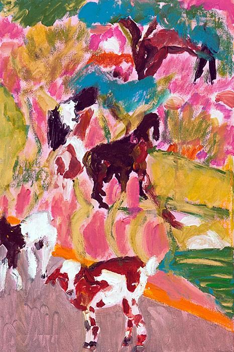 Goats No. 2 | 2013 | 60 x 40 cm