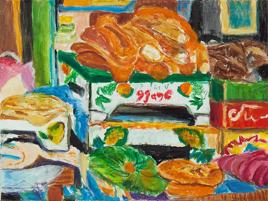 Shuk Ha Carmel No. 1  2013  Oel auf Leinwand  60 x 80 cm/24 x 31 in
