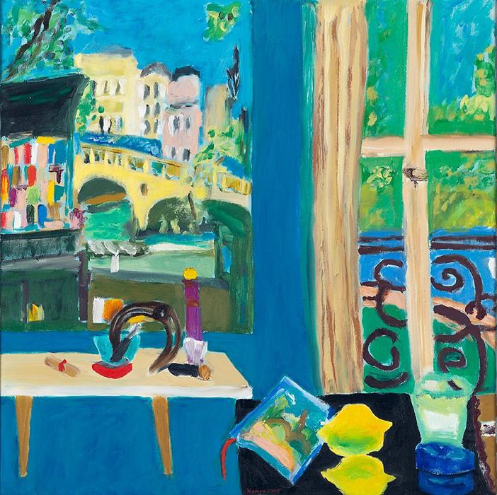 Les Bouquinistes | 2008 | 60 x 60 cm