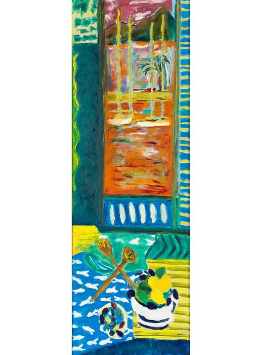 Paysage Salé  2011 oil on canvas 150 x 50 cm/59 x 20 in