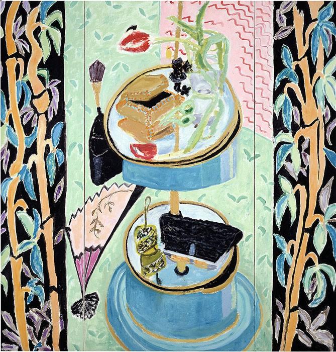 Bamboo  1998  Oel auf Leinwand/3-teilig  160 x 150 cm/63 x 59 in