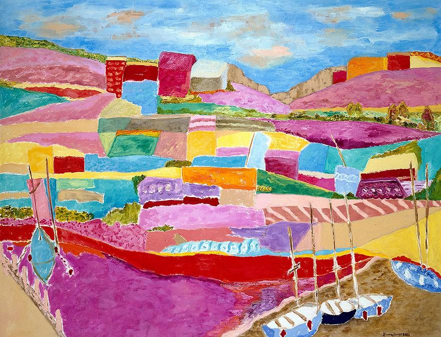 Cinque Terre | 2003 | 130 x 150 cm