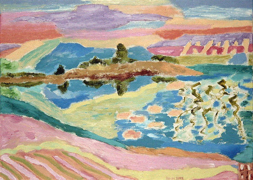 Baie de Quiberon | 2002 | 48 x 65 cm
