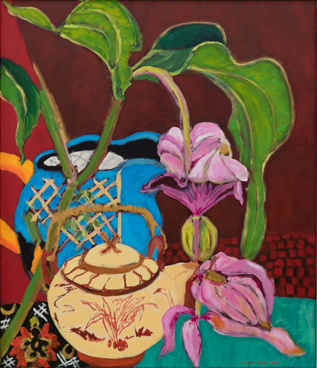 Medinilla  2015  oil on canvas  70 x 60 cm/28 x 24 in