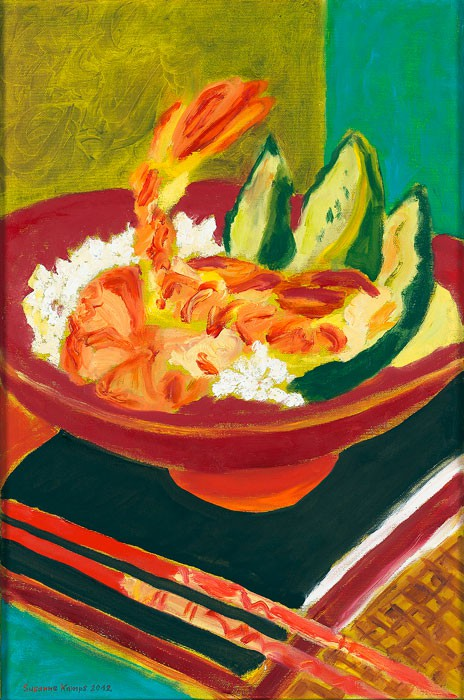 Scampi No. 2  2012  oil on canvas  60 x 40 cm/24 x 16 in