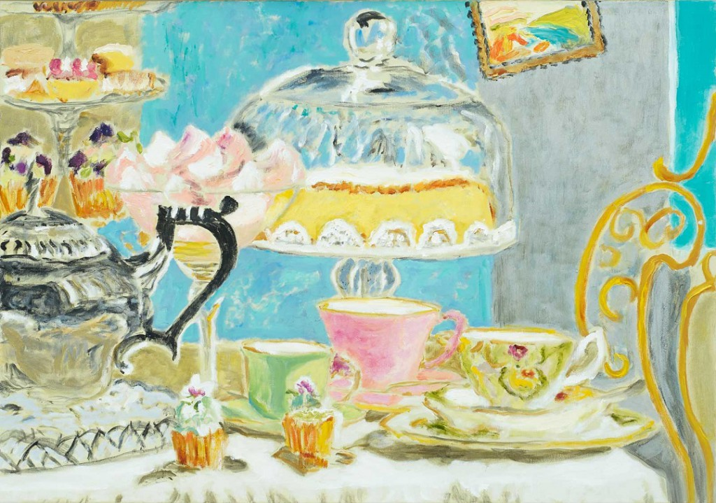High Tea  2017  oil on canvas  70 x 100 cm/28 x 39 in