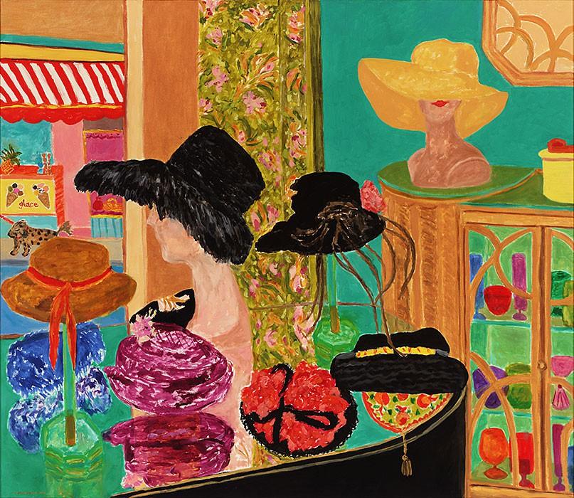 Chapeaux | 2005 | 130 x 150 cm