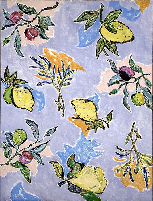 Under the lemon tree | 1997 | 165 x 125 cm