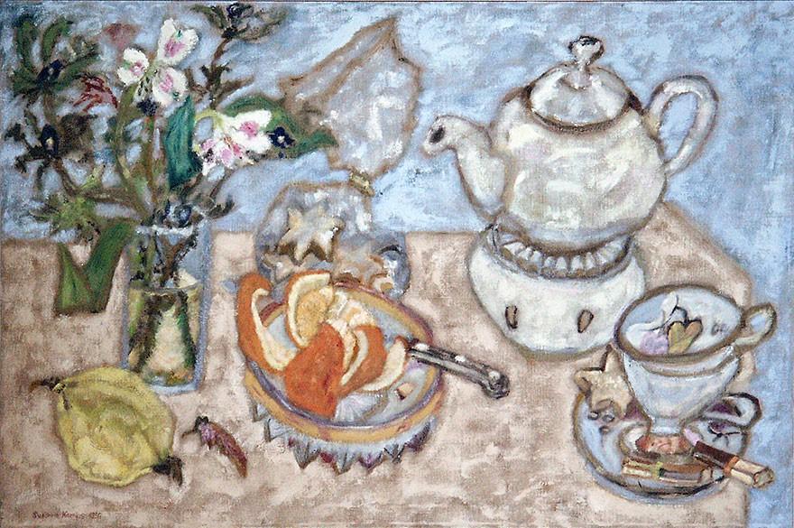 Teatime | 1996 | 90 x 135 cm