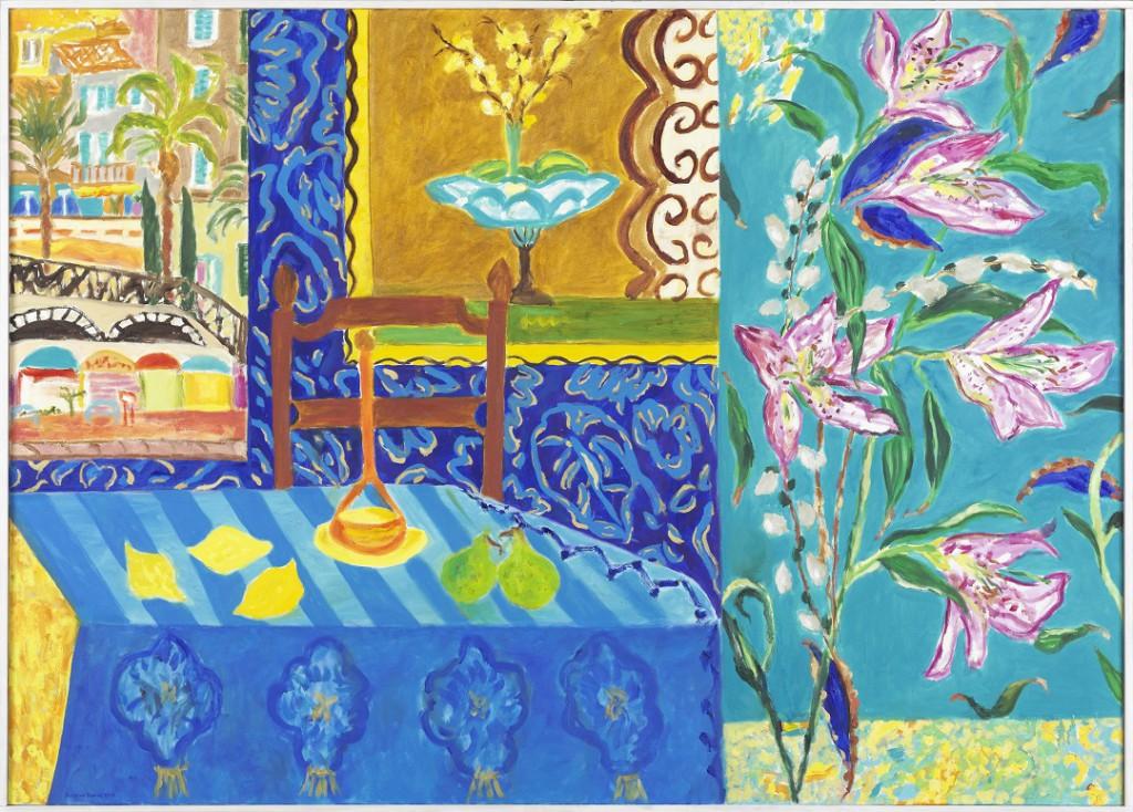 chambre-bizzare.-2008.-oil-on-canvas.100-x-140-cm